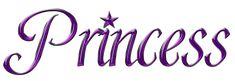 Word Purple Princess