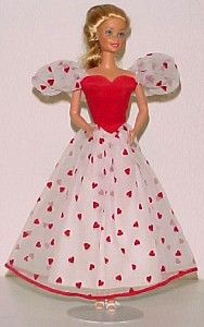 Loving You Barbie think I might still have her, or at least her dress!  I used to have peaches and cream Barbie too