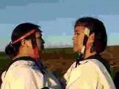 Inuit throat singing; females usually perform this to see who can last longer