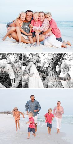 coral, pink, & grey perfect for beach pictures