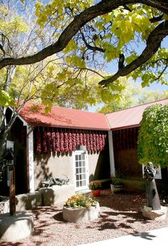Rancho de Chimayo.... one of the most beautiful and delicious dining experiences you will ever have. Now the only question is, red or green?