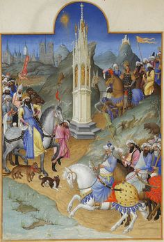 by Limbourg brothers The Meeting of the Magi - International Gothic - Wikipedia, the free encyclopedia