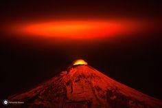 Photograph Villarrica Volcano Chile by Sebastian  Bravo Valenzuela on 500px