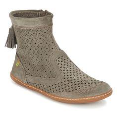 5ec35110f677 El Viajero Boot Mid Boots - Gray - El Naturalista Boots