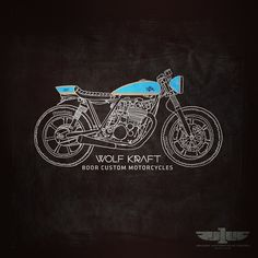 #illustration #design #motorcycles #motos | caferacerpasion.com