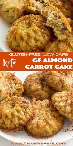 Dump and mix, and bake and this will be the best Keto Gluten-Free Almond Carrot Cake you've ever had.