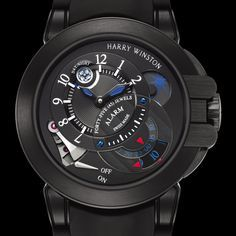 Harry Winston Project Z6 Black Edition @DestinationMars