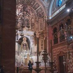 En #Instagram: Virgen de la Macarena #Sevilla #España #trip http://ift.tt/1nn5hB2