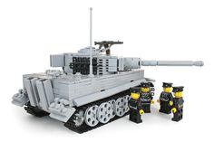 Brickmania - Tiger I Ausf E Mid Production (Gray) , $425.00 (http://www.brickmania.com/tiger-i-ausf-e-mid-production-gray/)