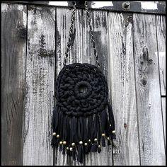 collier trapilho folk par Les Chiffons de la Sardine♥