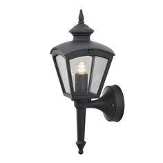 Konstmide Wandlamp Cassiopeia zwart buitenverlichting Konstmide 480-750