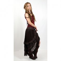 skirt - would look good for a steampunk outfit