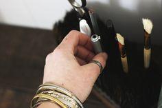 DIY Broom Head Pencil Holder @themerrythought