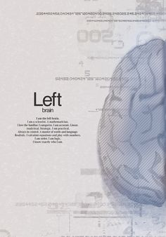 Left Brain. Left Brain/Right Brain series of commercials by Mercedes Benz.