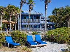 Beachfront Home On Sugar Sand Beach Tropical Private