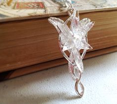 Lord of the Rings Replica Arwen Evenstar Necklace. by MintMarbles, $18.00