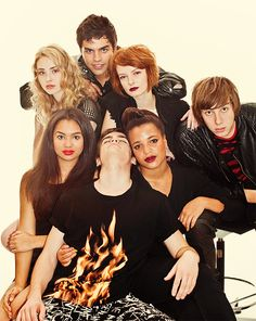 Skins UK, season 6 gah im on season 5!