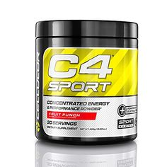 Cellucor C4 Sport Concentrated Energy and Performance Powder, Fruit Punch, 285 Gram >>> You can get additional details at the image link.
