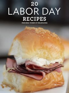 20 Labor Day Recipes // perfect for the holiday weekend!