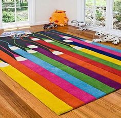 Colored Pencil Area Rug