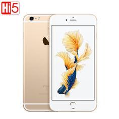 "Original New Apple iPhone 6S/6s Plus Dual Core 2GB RAM 16/64/128GB ROM 4.7""&5.5"" 12.0MP Camera 4K Video iOS 9 LTE cellphone-in Mobile Phones from Phones & Telecommunications on Aliexpress.com 