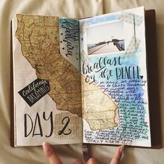 journal pages and scrapbook inspiration - ideas for travel journaling, art journaling, and scrapbooking.Travel journal pages and scrapbook inspiration - ideas for travel journaling, art journaling, and scrapbooking. Travel Journal Scrapbook, Travel Journal Pages, Bullet Journal Travel, Art Journal Pages, Art Journaling, Journal Prompts, Travel Journals, Journal Notebook, Journal Diary
