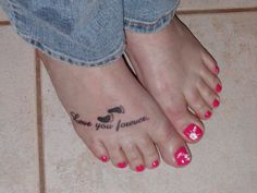 After the birth of my first grandbaby... wonder how many more little feet I will add!?