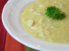 Chicken Lemon Rice Soup Mmmmm......