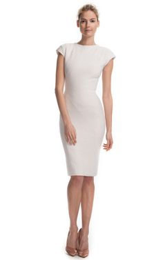 Zac Posen Fitted Lady-like Dress