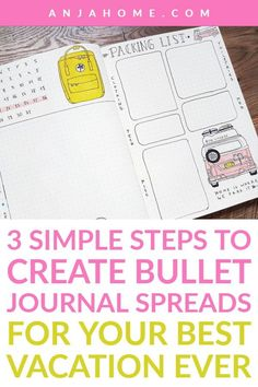 Here you can find over 20 bullet journal travel ideas like travel bucket list, itinerary, packing list, travel journal ideas and many other layouts you may need for your next trip anjahome bulletjournal planner journalinspiration 846606429932912773 Bullet Journal Packing List, Bullet Journal Travel, Bullet Journal Spread, Bullet Journal Layout, Bullet Journal Inspiration, Journal Ideas, Journal List, Travel Journals, Vacation List