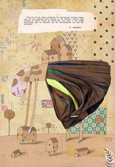Aimar ilustrado: Ilustración para Pocketful Illustration Magazine,...