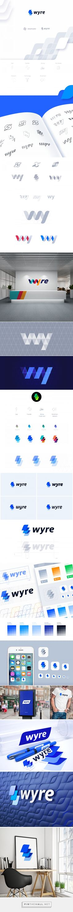 Wyre Branding by Ramotion ✪