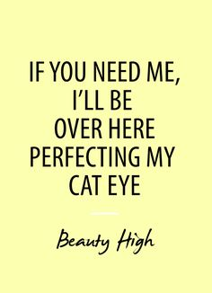 cat eye #salon #quote http://www.caprettiandco.com/