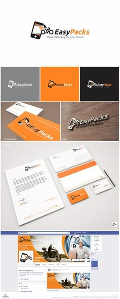 Create a visual identity for an app call motorcycle courier (motoboy) by >NAZ<