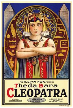 "CAST: Theda Bara; Features: - 27"" x 40"" - Packaged with care - ships in sturdy reinforced packing material - Made in the USA SHIPS IN 1-3 DAYS"