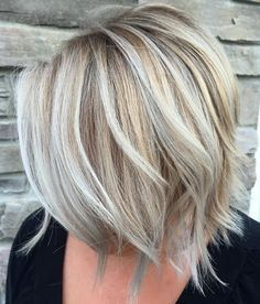 Layered+Blonde+Balayage+Bob