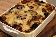 GF FF not DF (has cheese) - Vegetarian Lasagne