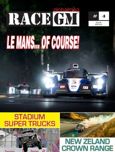RACE GLOBALMAG brings you a comprehensive presentation of the Le Mans 24 Hours, Stadium Supertrucks, Formula 1, #IndyCar, #NASCAR Whelen Euro Series, #Dragsters ... and everything else from the world of motorsports!  #cars #racing #motorsport #formula1 #lemans #lemans24hours #raceglobalmag #racegm #raceglobal #carsglobalmag