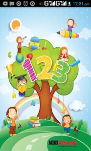 1234 Kids android App