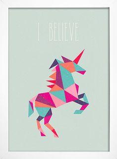 Imagem do Poster Unicorn - I Believe