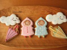アイシングクッキー・梅雨ver&バースデーケーキ : grue*press