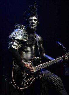 WES BORLAND.  guitarist, vocalist and songwriter of Limp Bizkit, Black Light Burns and Big Dumb Face; paint artist.