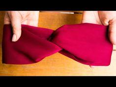 Como hacer un turbante - diadema o Tiara facil de hacer solo 10 minutos paso a paso - YouTube Cartoon Painting, Hair Decorations, Couture Sewing, Diy Hair Bows, Straight Stitch, Baby Bows, Ribbon Bows, Diy Crafts To Sell, Diy Hairstyles