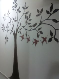 Another wall tree idea.