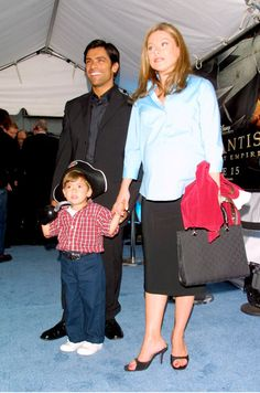 Blast From the Past: Look Back at Celebrity Kids' First Red Carpet Apperances Celebrity Children, Celebrity Couples, Mark Consuelos, Kelly Ripa, Soap Stars, General Hospital, European Fashion, My Children, Baby Strollers