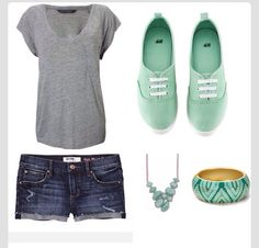 Too cute! I love the shoes. I like KEDS much better than VANS.