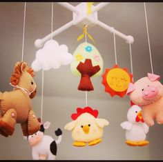Update on my store! Baby Farm Mobile