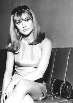 Sharon Tate at the Airport in London, 1966
