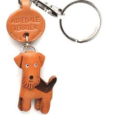 Airedale Keychain, $15, now featured on Fab.