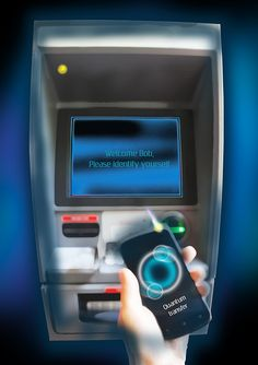 A new quantum-cryptography scheme to secure anonymous transactions. An international team has demonstrated a form of quantum cryptography that can protect people doing business with others they may not know or trust – a situation encountered often on the Internet and in everyday life — for example, at a bank's ATM.